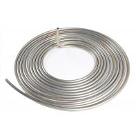 Quality Bright ASTM 316 316L Stainless Steel Pipe Coil Welded Seamless For Chemical Industry for sale