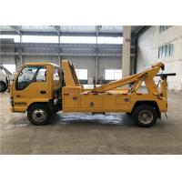 Quality 21m Wire Rope Tow Truck Wrecker 5 Speed Forward With 1 Reverse 4x2 Drive for sale