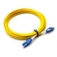 Buy cheap 10M LC UPC To LC UPC Single Mode Patch Cord Flat Clip Uniboot Duplex OS2 500 from wholesalers