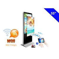 Quality WIFI Digital Signage Full HD Advertising LCD Display Kiosk with USB Memory card for sale