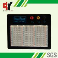 Quality Black Plate ABS Plastic Prototyping Breadboard With Color Printed for sale