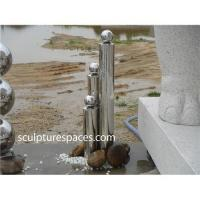 Quality Stainless steel fountain water feature for sale