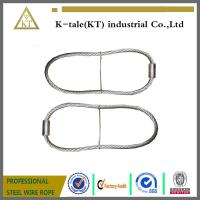 Quality cheap rigging wire rope sling assembled with wire rope thimble for buildings for sale