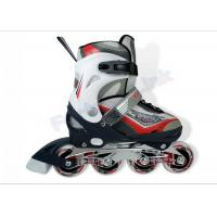 Quality PU Wheels Inline Ice Skating Shoes for Kids , Ice Hockey Skates with ABEC-7 Bearing for sale