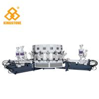 China Automatic Three Colors  PVC Shoes Making Machine For Basketball / Jogging / Casual Shoes on sale