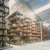 Quality Steel Selective Pallet Racking Systems / Warehouse Pallet Racks Customized Color for sale