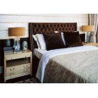 Quality High End Solid Wooden Villa Furniture  , Queen Or King Bedroom Sets for sale