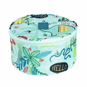 China Round Design Undergarment Travel Bag / Travel Lingerie Organiser Lightweight on sale