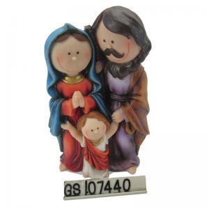 China 8'' Holy Family Jesus Mary Joseph Religious Figurine Decoration on sale