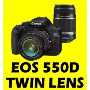 China CANON EOS 550D 18-55 + 55-250 TWIN LENS CAMERA +16GB-digital cameras-canon camera on sale