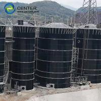 Quality Impact Resistance Grain Storage Silos 0.25mm~0.40mm Two Layer Of Coating Internal And External for sale