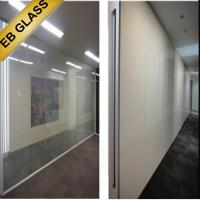 China electrical frosted glass,  manufacturer dimmable glass,intelligent glass EB GLASS on sale