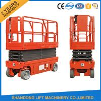 Quality Small Mobile Electric Hydraulic Lift Table for Rental / Material Handling / Aerial Work for sale
