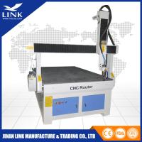 Quality Ball Screw Wood Advertising CNC Router Desktop With 120mm Z Axis for sale