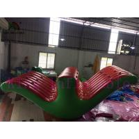 Quality Big Inflatable Water Parks , Kids And Adults Seesaw Rocker Inflatable Water Toy for sale