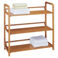 China High Strength Bamboo Bathroom Supplies Bamboo Towel Rack 3 Tier Bath Furniture on sale