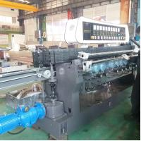 Quality High Efficiency Glass Straight Line Beveling Machine Double Glazing Equipment,Straight-Line Glass Beveling Machine for sale