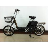China 18 Inch Electric Motorized Bicycle with 48V 12A Lead Acid Rechargeable Battery on sale