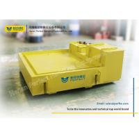 Quality Steel Frame Rail Transfer Cart / Automatic Guide Vehicle With Weighing Scales for sale