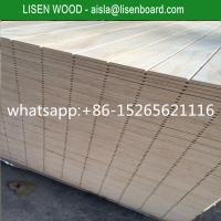 Quality V Slotted Radiata T11 Pine Plywood For Funiture,  12mm 15mm pinus sylvestris Pine Plywood for sale