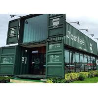 Quality Modular Shipping Container Restaurant Prefabricated Container Coffee Shop Interior Design for sale