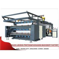 China Web Poly Plastic Film PP Woven Flexographic Printing Machine , 3 Color on sale