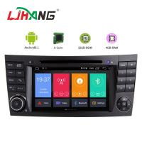 Quality AM FM Steering Wheel Control Mercedes Dvd Player , HD Mercedes E Class Dvd Player for sale