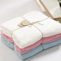 China Soft Summer Baby Cot Fitted Sheet Cot Blanket For Baby Or Sofa Blanket on sale