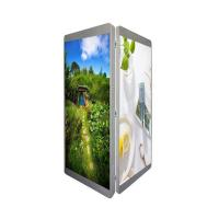 Quality Urhealth double sided intelligent lamp post P3 P4 P5 led screen for advertising for sale