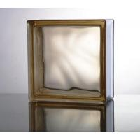 Quality Glass Block (Misty Cloudy Brown) for sale