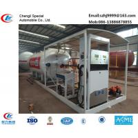 Quality hot sale!30M3 mobile skid lpg gas station for filling cars, wholesale price skid lpg gas station with auto lpg dispenser for sale