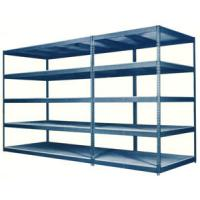 Quality Multiple Levels Q235B Steel Heavy Duty Metal Industrial Pallet Racking, Warehouse Shelving for sale