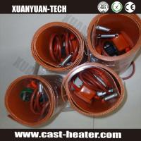 Quality flexible silicone rubber heater oil drum heater for sale