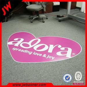 Quality Advertise custom design PVC roll flooring / pvc flooring vinyl sticker for sale