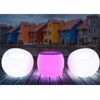 Quality Color Changing Illuminated Decoration LED Bar Furniture Table Drum Shape for sale