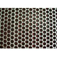 Quality 0.8 Mm Diameter Perforated Metal Mesh Round Hole Punched Mesh Aluminum Plate for sale