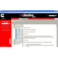 Quality Heavy Duty Truck Diagnostic Software Cummins Quickserve for Family Engine for sale