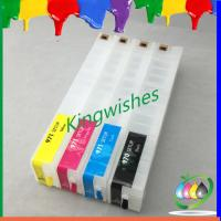 Quality 4 color new inkjet printer refillable cartridge for HP X576dw with HP970 971 chip for sale