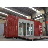 Quality Modified Shipping Container House With Electrical Platform Wind Resistance for sale