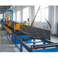 Quality Steel Plate Cutting , H beam Assemblying ,H Beam Gantry Welding , Flang Plate Straightening , H Beam Production Line for sale