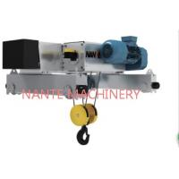 Quality NHA - D 5 Tons Industrial Low Headroom Electric Hoist With Wire Rope for sale