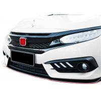 Quality Durable ABS Type-R Auto Front Grille for Honda New Civic 2016 2018 for sale