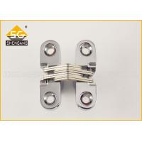 Quality Zamak 180 Degree Cabinet Concealed Hinge For Interior / Cupboard Door for sale