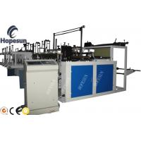China Grocery Plastic Bag Making Machine Double Servo Motor Length Fixing High Automation on sale