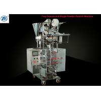 Quality 3 In 1 Beverage Auto Packaging Machine Double Particles Single Powder With 3/4 Side Sealing for sale
