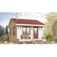 Quality Cyclone Proof Prefab Shipping Container Homes , IBC Modern Prefab Homes for sale