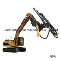 China 2017 German Standard high quality Excavator Mounted Drill Mast fast drilling for blast hole on sale
