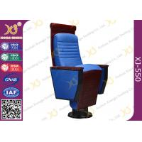 Buy cheap Wooden Carve Craft Auditorium Theater Chairs With Cushion For Church Minister from Wholesalers