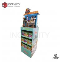 Quality floor standing cardboard retail display for foods,Cardboard Display Stand,Cardboard Pop Display for sale