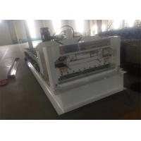 Buy cheap 828 Roof Panel Roll Forming Machine 8 Rows Of Rollers 4kw Motor Power for from wholesalers